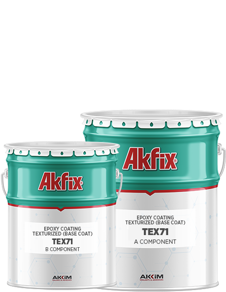 TEX 71 EPOXY COATING TEXTURIZED (BASE COAT)